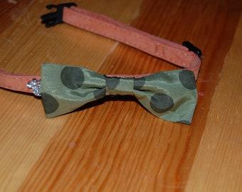 Bow tie Cat collar