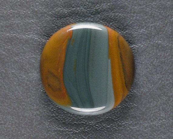 RESERVED For Hala NAC Designer Cabochon Owyhee Jasper blue brown round