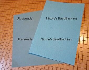 Ultrasuede with FREE Nicoles BeadBacking Montauk Great Combo for Beading Soutache