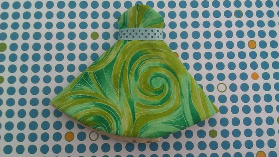 Blythe Dress - Retro Swirl