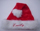 "Custom Personalized Santa Hat 22"" Christmas Photo Prop Full Range of Sizes in my Store"