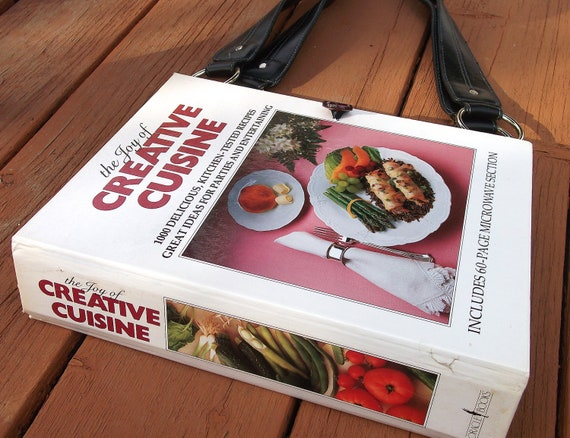 RetroGrandma Upcycled CookBook Purse