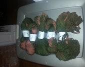 Gorgeous Hand Spun Hand Dyed Wool Yarn