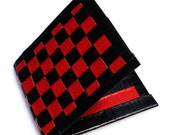 Duct Tape Wallet - Red & Black
