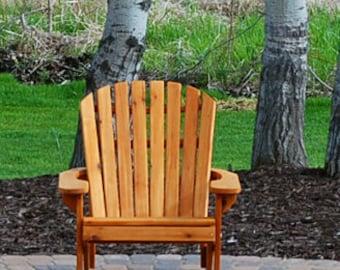 1 Adirondack BIG BOY chair KIT - unfishished