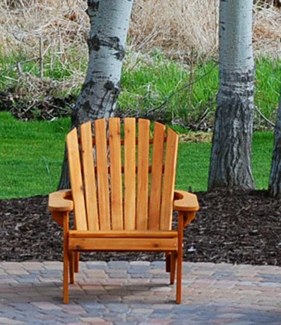 2 Adirondack BIG BOY chair Kits - unfinished - 99% CLEAR wood