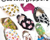 Custom Slippers for Babies, and Children