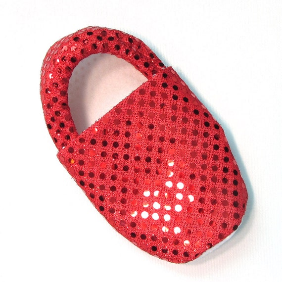 Disco Red Slippers Child S