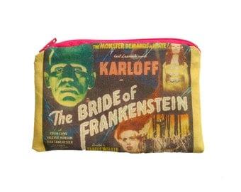 Bride of Frankenstein Zipper Pouch