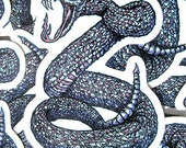 Rattle Snake Killer Die Cut Vinyl Sticker Year Of The Snake - Etsy