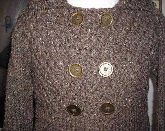 Double Breasted Sweater by Never Felt Better