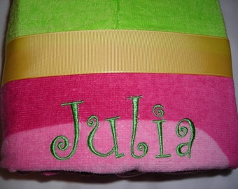 Personalized Stephen Joseph Hooded Towel Turtle by Never Felt Better