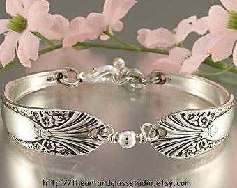 Silver Spoon Bracelet RADIENCE Jewelry Vintage, Silverware, Gift, Anniversary, Wedding, Birthday