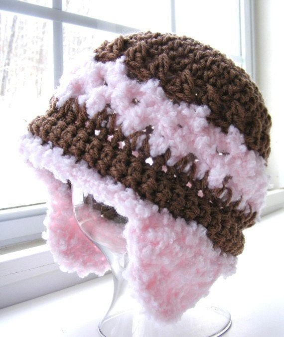 Boy or Girl Crochet Hat Pattern - Easy Gauge as you Go - Digital ...
