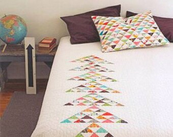 Denyse Schmidt PATTERN - Point Me - Quilt and Sham