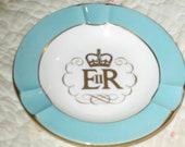 Vintage Wedgewood Queen Elizabeth Ashtray