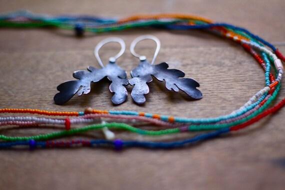 Furling Lichen Earrings