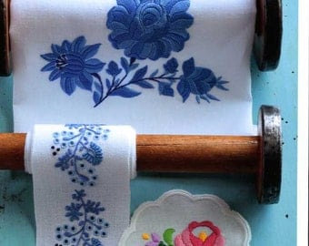 Hungarian Flower Embroidery - Japanese Craft Book MM