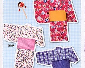 Easy Yukata Full-Size Pattern Sheet for Babies