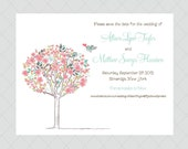 Romantic Save the Dates - Soft, Pink, Wedding Save the Date
