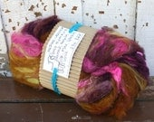 cobbler batt - fiber art batt for spinning and felting