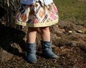 Vintage Diamond Rose Skirt 18 mo 24 mo 2T