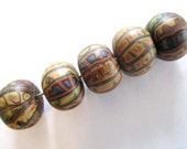 Woodlands Handmade Polymer Clay  Beads Jewelry Supplies