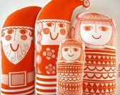 Scandinavian Retro Christmas Toy Kit by Jane Foster - Santa, Mrs Christmas and Angels