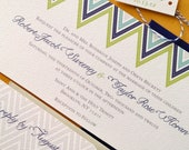TWINE COLLECTION- Lucky Us, invitation set
