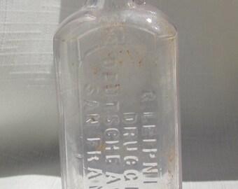 Antique, San Francisco California Medicine Bottle (Amethyst265)