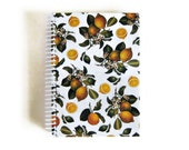 Lemons and Blossoms - Notebook Spiral Bound - 5 x 7