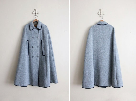 1960s cape / Austrian wool cape