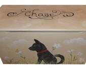 Custom wooden Doggie Toy Chest