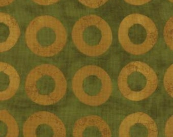 SALE - Simple Marks - By Malka Dubrawsky - For Moda - Moss - 1 Yard - 5.75 Dollars