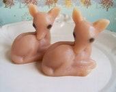 Deer Soap Set - Fawn Soap, Woodland Soap, Caramel Latte Soap, Animal Soap, Party Favors, Cute Soap, Novelty Soap, Soap Gift, Guest Bathroom