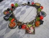 Vintage Halloween Bracelet