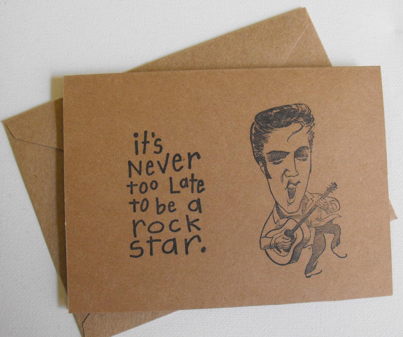 elvis presley briefpapier rock star karten legen sechs kraft. Black Bedroom Furniture Sets. Home Design Ideas