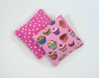 TASTY TREATS - Kids Bean Bag Set of 2 - Party Favor - Stocking Stuffer
