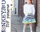 Posy Pocket Skirt PDF eBook Pattern INSTANT DOWNLOAD
