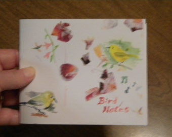 Bird Notes notebook or sketchbook