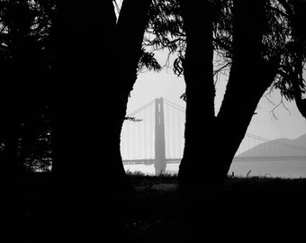 Golden Gate - San Francisco California Landscape Photography Print