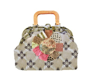 bebe carpetbag no.22,SALE was 298. reduced to 225.