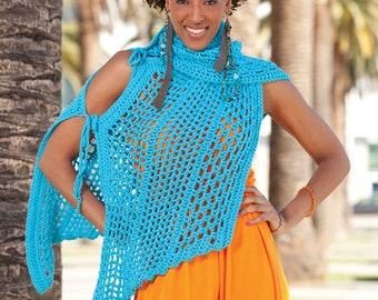 Multi-way Shawl  - Special Order - Choose your color