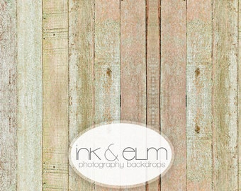 "Product Backdrop 2ft x 2ft, Photography Vinyl Wood Backdrop or Floordrop, Distressed Shabby Chic Wood backdrop, ""Shabby Slats"""