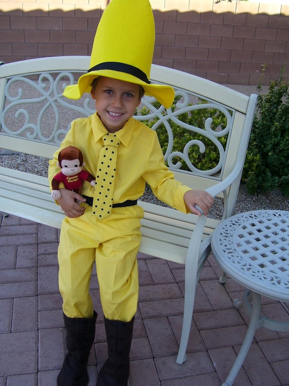 Special Listing for saraharskamp - Man in the Yellow Hat Children's Costume, Child Size 5