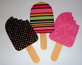 Fabric Applique PDF TEMPLATE Pattern Only Chubby POPS Popsicle...New