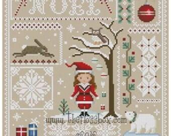 Christmas Sampler for Cross Stitch