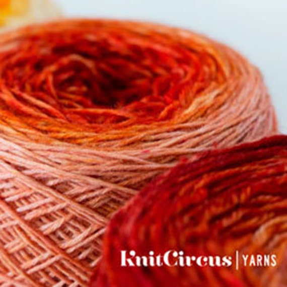 Reserved for Darlene:  Gradient Yarn Club
