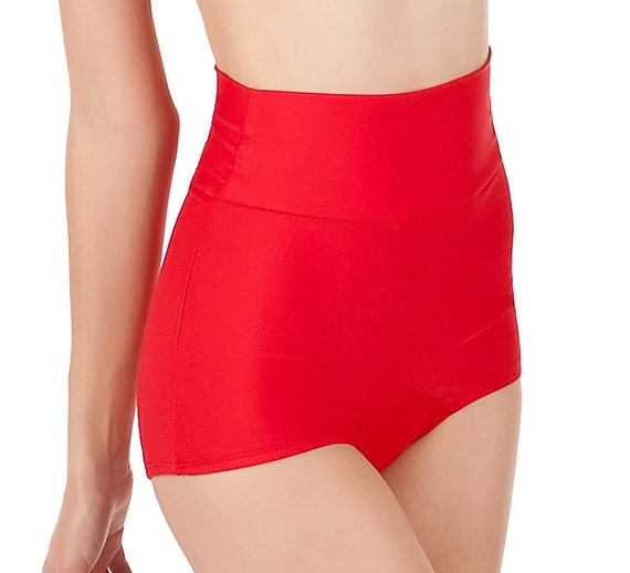 RUBY High Waist Retro Bikini Bottoms Pick Your Size
