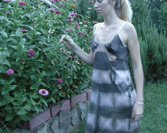 Chestnut Brown Slip Dress